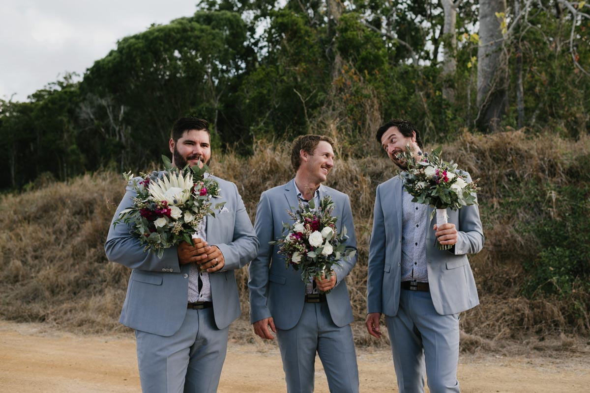Naturally Elegant Wedding in the Whitsundays