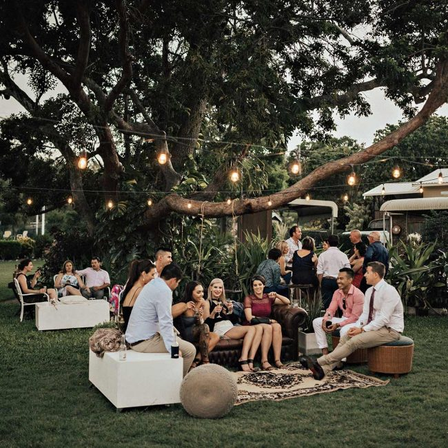 Seaside Lawn Wedding Receptions Whitsundays
