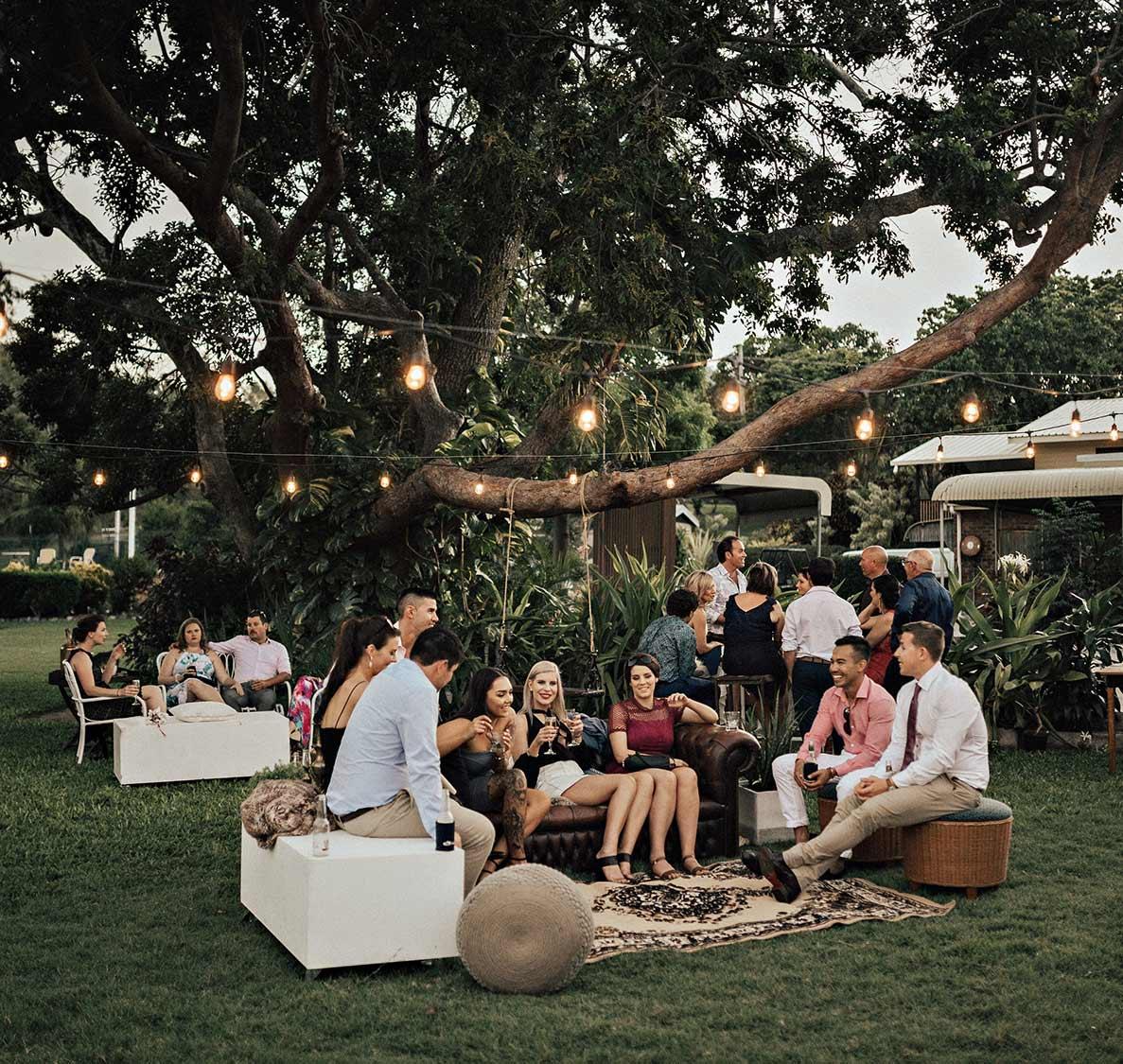 Seaside Lawn Wedding Receptions Whitsundays